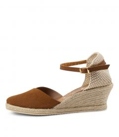 Trinity Tan Suede-leather