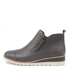 Bycra Charcoal Leather