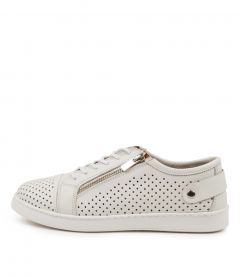 Moon White Leather