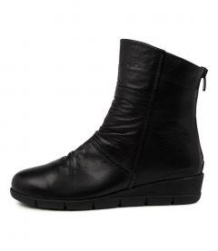 Wbelia Black Leather