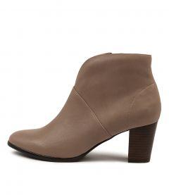 Christina Taupe Leather
