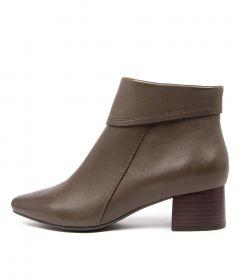 Lauretta Su Khaki Leather