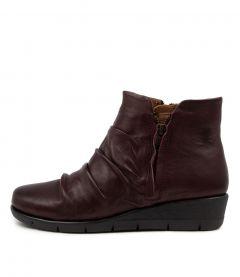 Maxie Bordo Leather