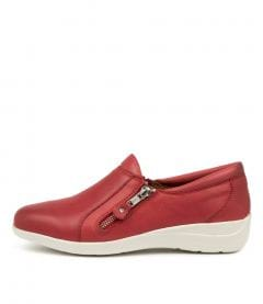 Billet Red Leather