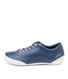 Royce Navy Blue-white Lea