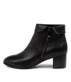 Grettel Black Leather