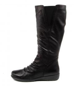 Pacob Black Leather