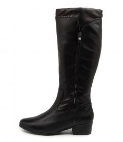 Elmhurst2 Black Leather