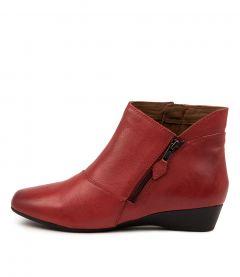 Rilla Red Leather