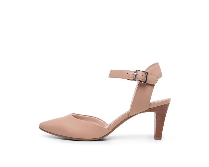 RUTHANN SU NUDE LEATHER by SUPERSOFT - at Diana Ferrari