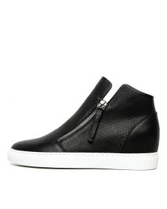 GREAT BLACK WHITE SOLE LEATHER