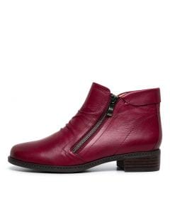 PARNEL SU RED LEATHER
