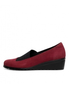 SERILDA RED NAPPA LEATHER