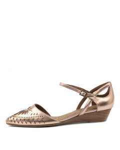 POLONIA ROSE GOLD LEATHER