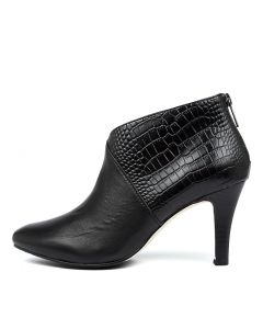 JOY2 BLACK CROC LEATHER