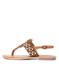 MIAH CAMEL LEATHER