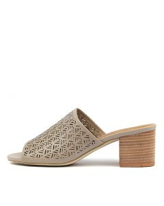 ARLETTE PALE TAUPE LEATHER