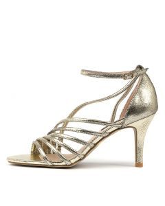 COLETTA DF GOLD CRACKLE LEATHER