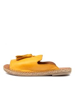 CRYPTIC DF OCRE (YELLOW) LEATHER