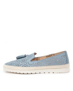 ANDALUSE DF POWDER BLUE LEATHER