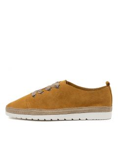 ATMORE DF YELLOW SUEDE