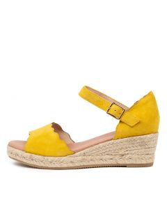 RAELENE DF YELLOW SUEDE