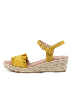 RIDA DF YELLOW SUEDE
