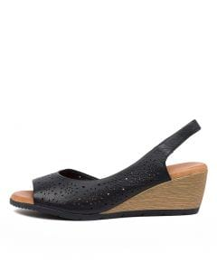 XABELLE DF NAVY LEATHER