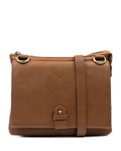 JOPLIN CROSSBODY BAG TAN SMOOTH