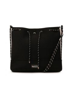 NOVA BUCKET BAG BLACK SMOOTH