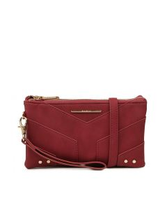 MAPLE WALLET BURGUNDY SMOOTH