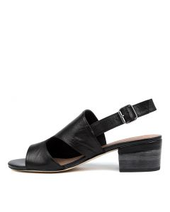 KITSON BLACK-E LEATHER