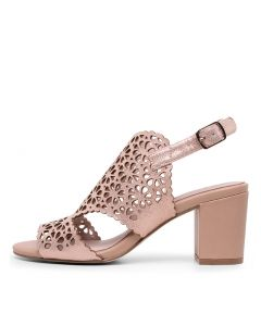 NYLAH BLUSH METALLIC LEATHER
