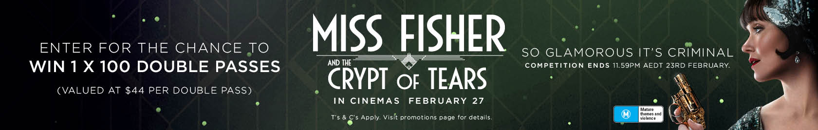 Miss Fisher Competition