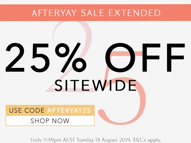 Afteryay Sale Extended